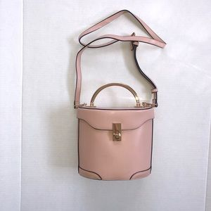 A New Day Pink Buckle Crossbody Purse